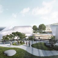 Yiwu Grand Theater in Yiwu, China, be MAD architects