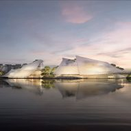MAD designs Yiwu Grand Theater to look like a Chinese junk