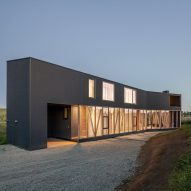 Maitenes House in Chile by Ignacio Correa