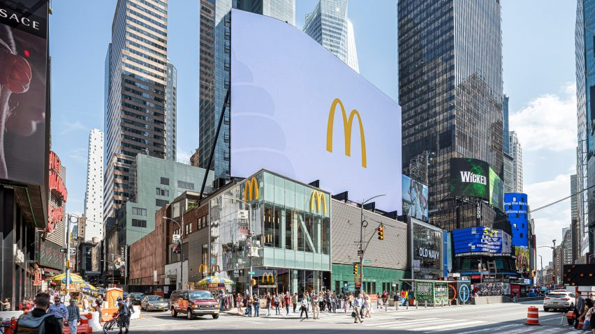 McDonald's Times Square New York by Landini Associates