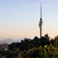 Supertall Camlica TV and Radio Tower nears completion in Istanbul