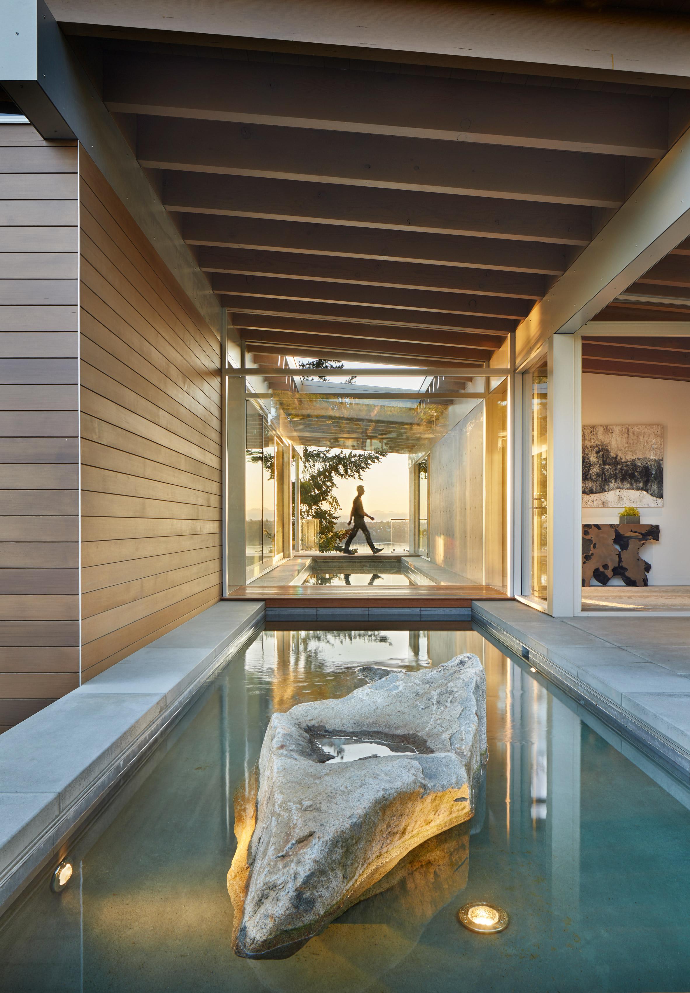 Mercer Island Modern by Garret Cord Werner in Washington state