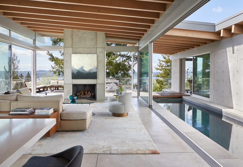 Mercer Island Modern by Garret Cord Werner in Washington state