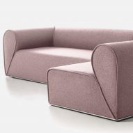 Johannes Torpe designs Heartbreaker sofa for Moroso after a breakup