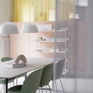 Muuto expands Copenhagen offices with new pastel-coloured workspaces