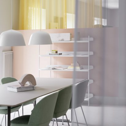 Muuto Expands Copenhagen Offices With New Pastel Coloured Workspaces
