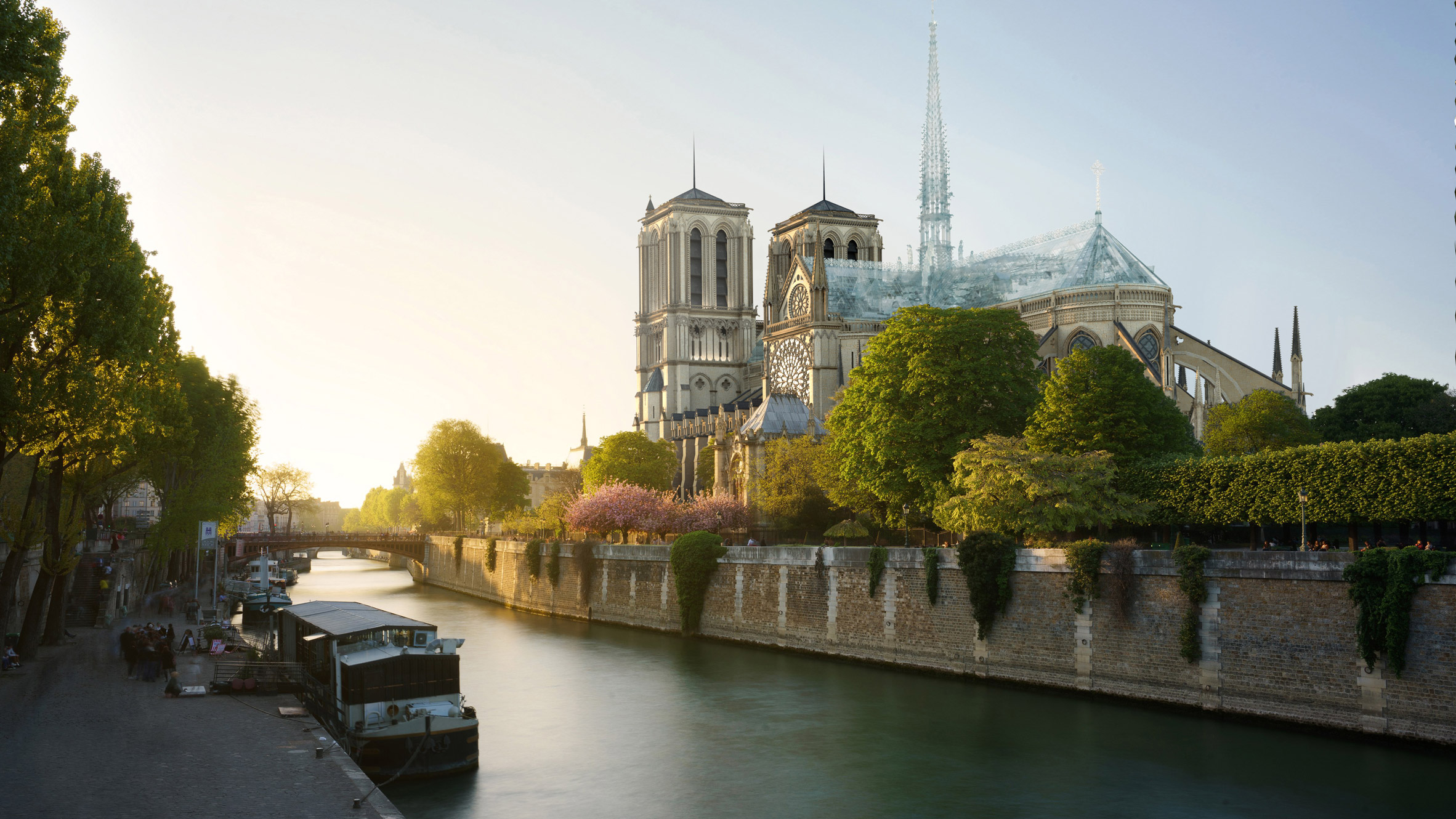 Eight Inc proposes structural glass for rebuild of Notre-Dame roof