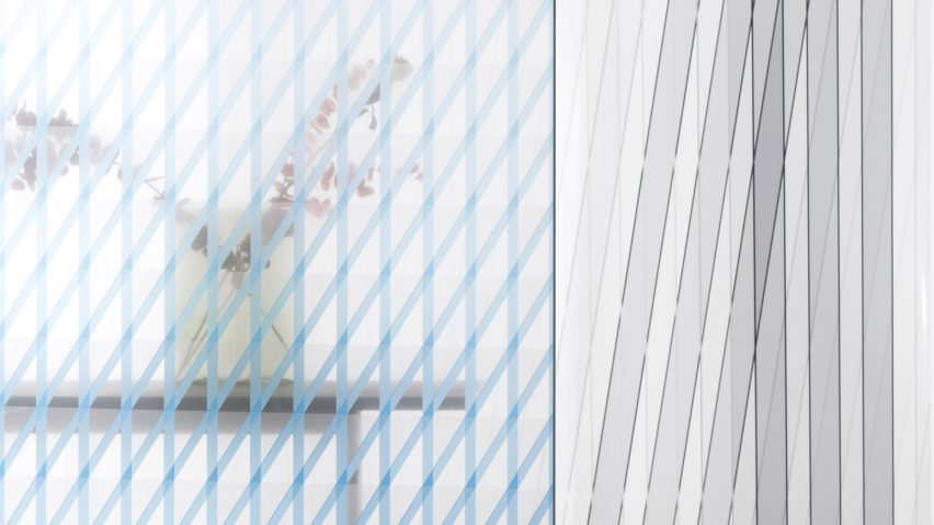 Oblique and Chevron glass panels by Ronan and Erwan Bouroullec x Skyline Design