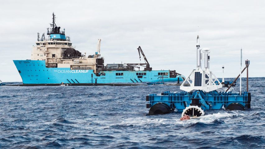 The Ocean Cleanup redeployed to tackle Great Pacific Garbage Patch
