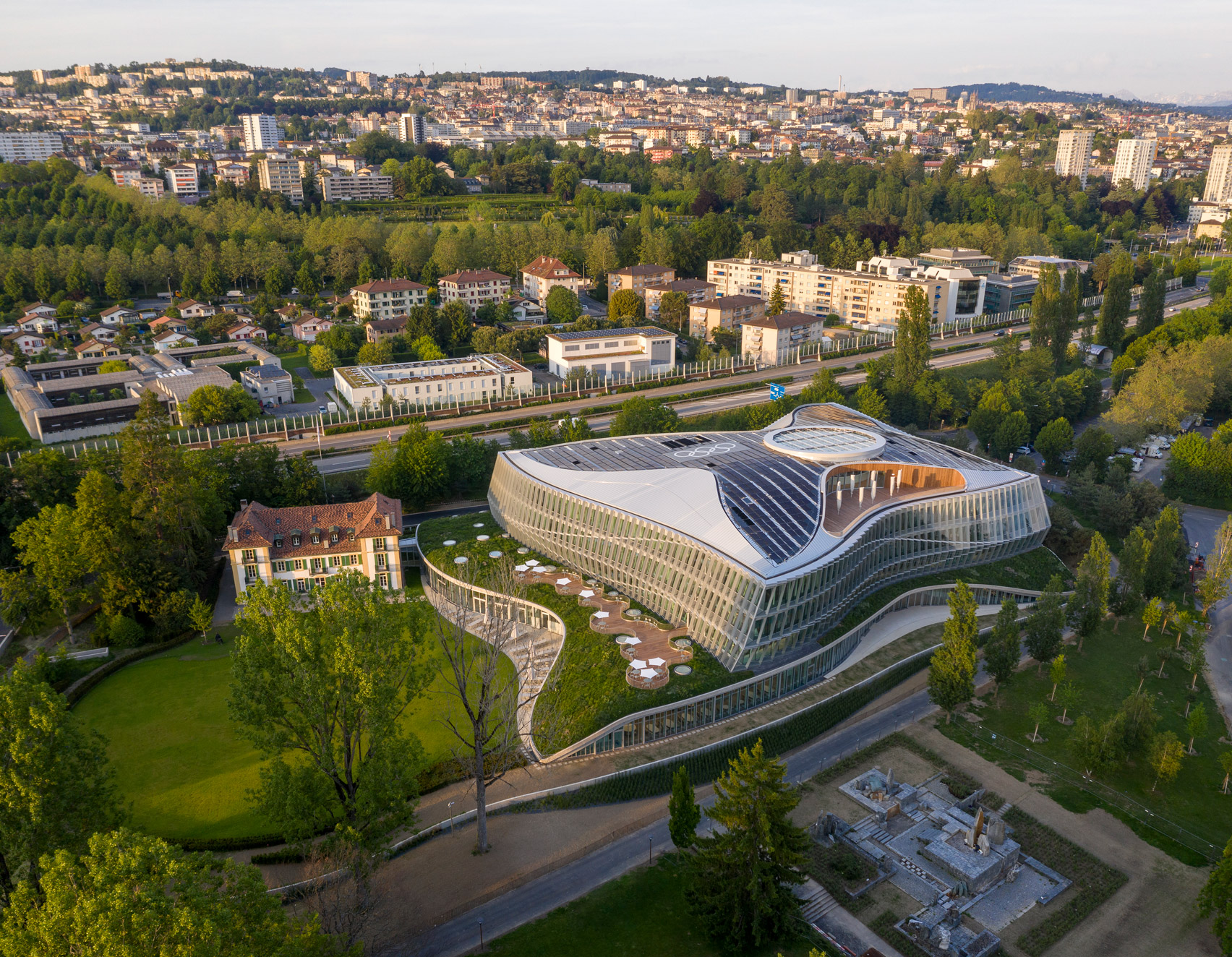 Olympic House in Lausanne Switzerland by 3XN
