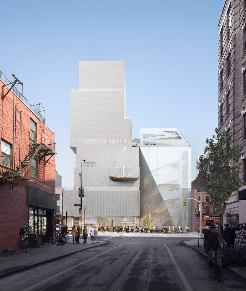 New Museum extension by OMA