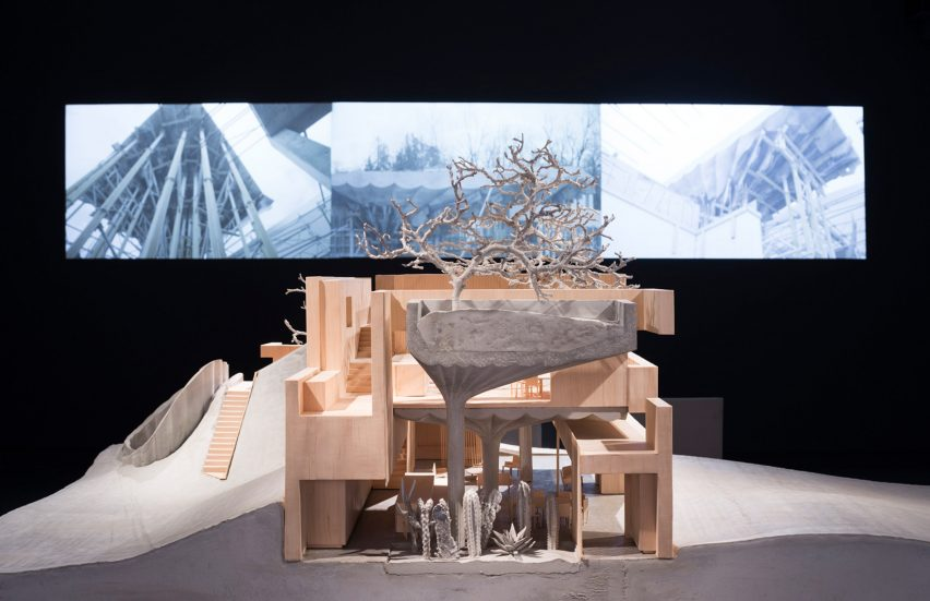 Omer Arbel presents experiments with concrete at Particles for the Built World exhibition