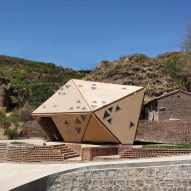 Operable Interactive Village Hut by Weiguo Xu