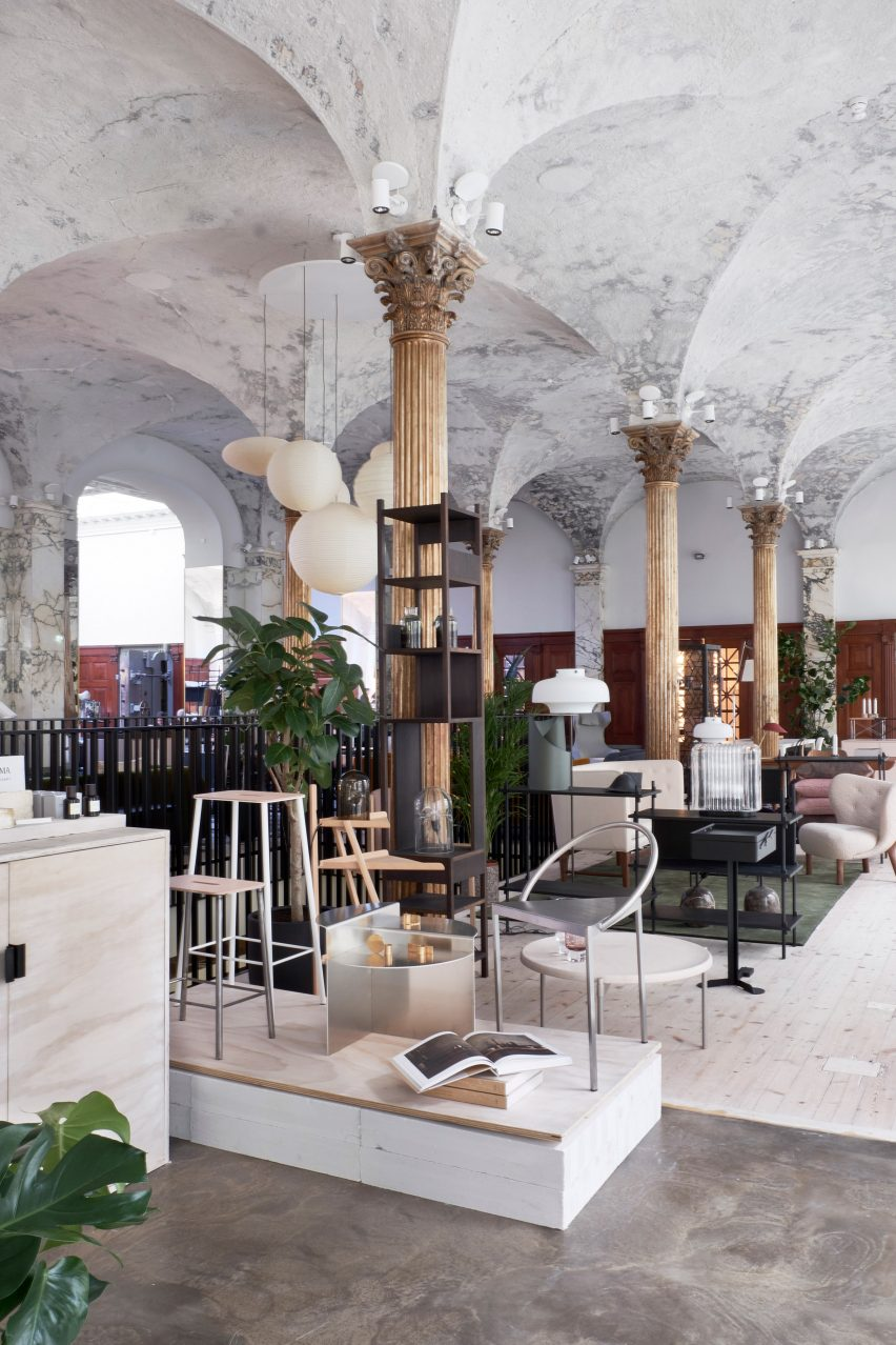 Paustian showroom in Copenhagen on Niels Hemmingsens Gade