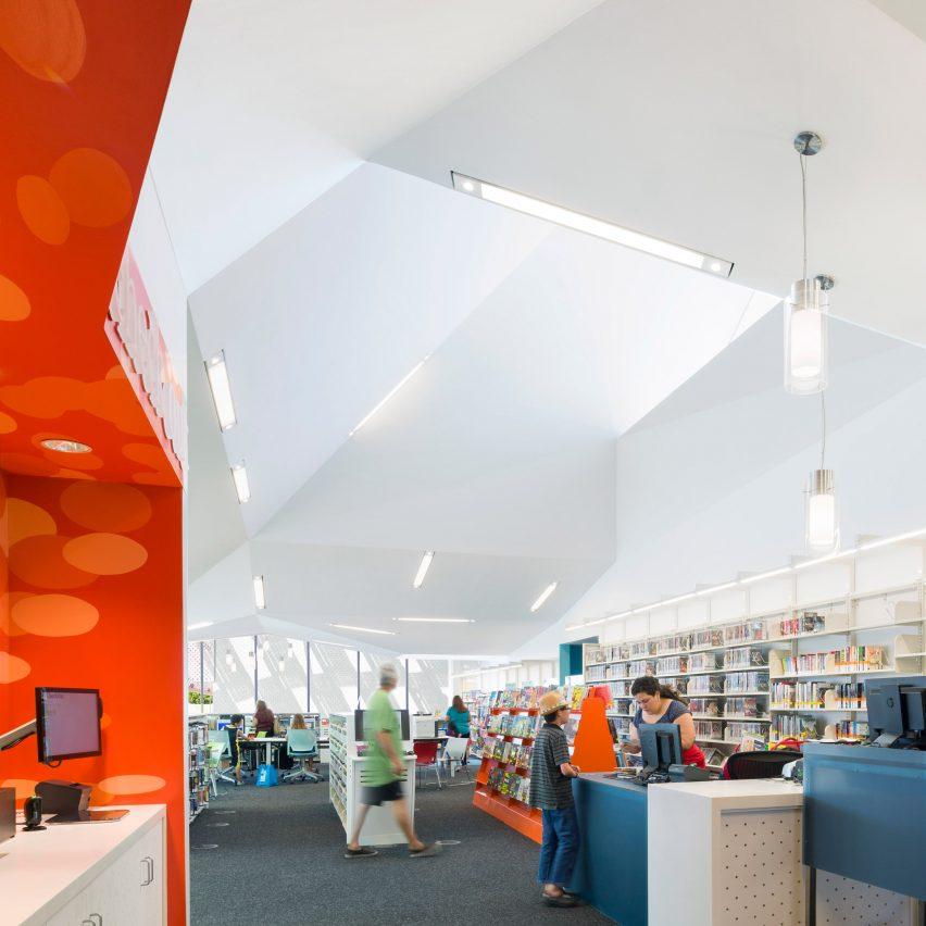 Pico Branch Library by KoningEizenberg