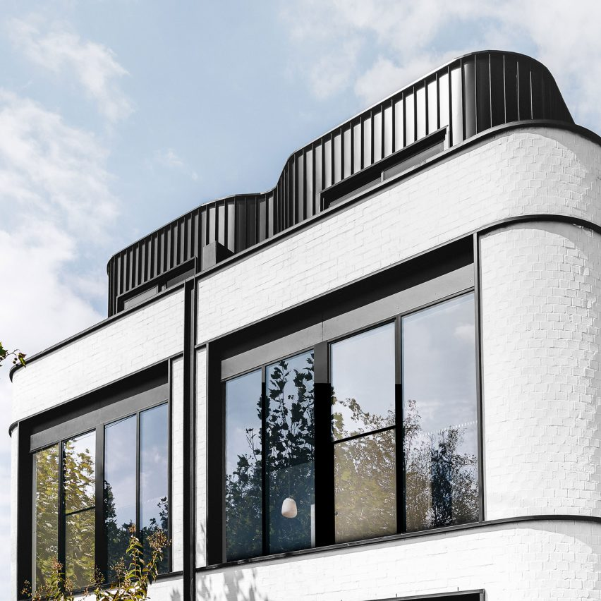 Art deco architecture: Pine Ave Housing, Melbourne by Cera Stribley Architects and The Stella Collective