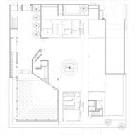 Ground floor plan of Punchbowl Mosque by Candalepas Associates