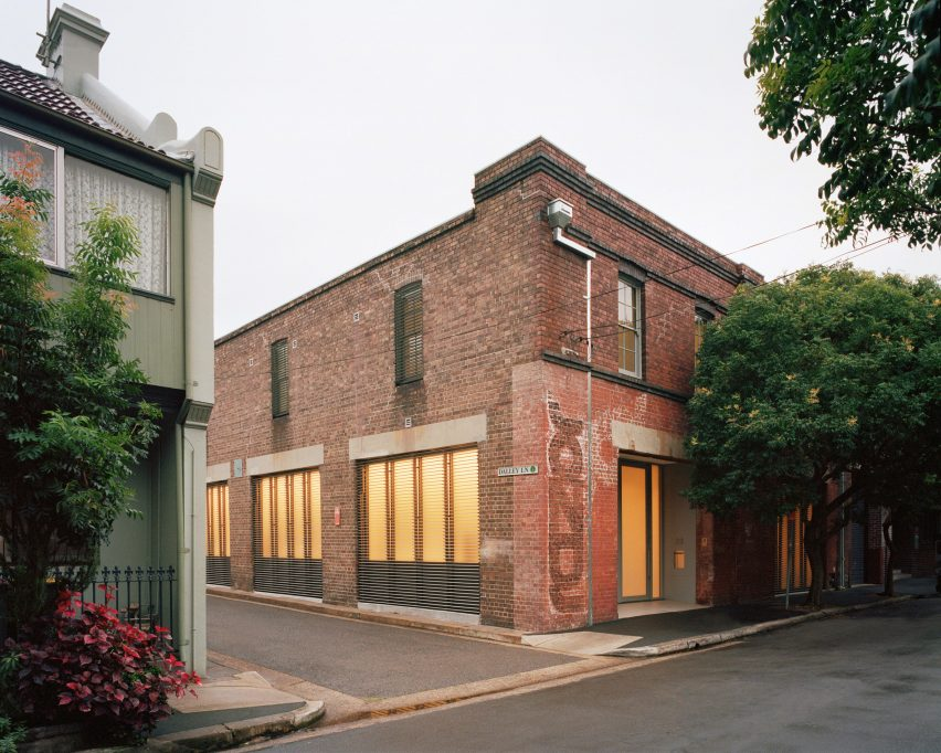 Redfern Warehouse by Ian Moor Architects
