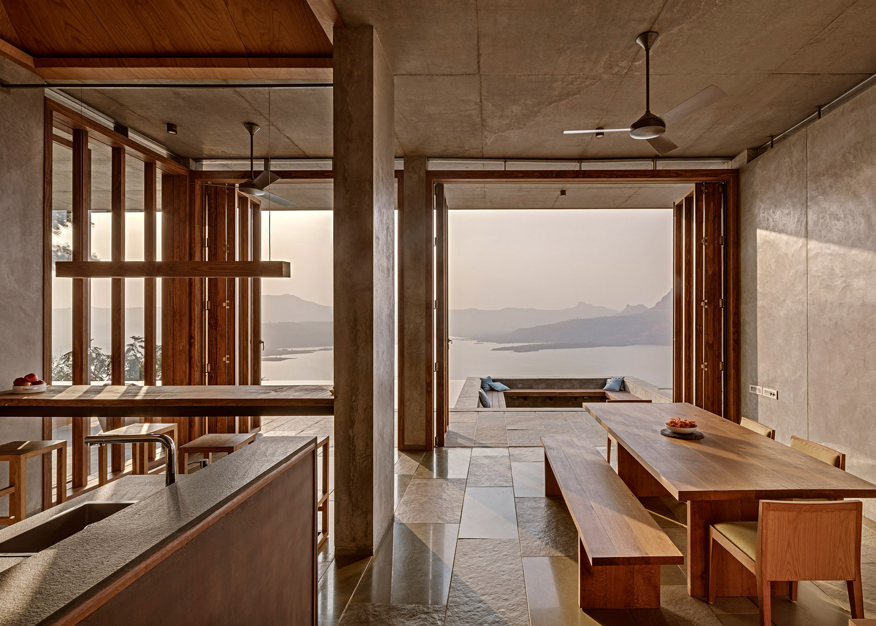 Retreat Sahyadris by Khosla Associates