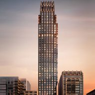 CetraRuddy reveals art-deco New York tower designed for Rockefeller Group
