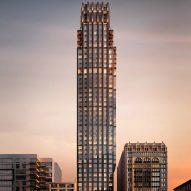 CetraRuddy reveals art-deco New York tower designed for Rockefeller Group