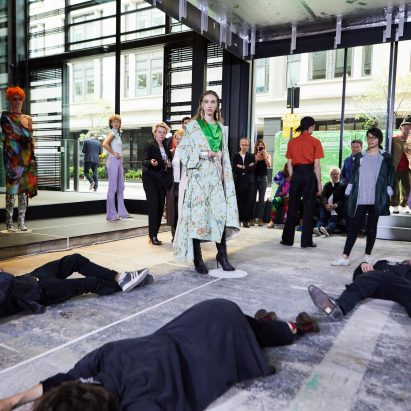 """There is no fashion on a dead planet"" says RCA grad who refused to make final collection"