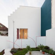 Fala Atelier adds colour to a 19th-century house in Porto