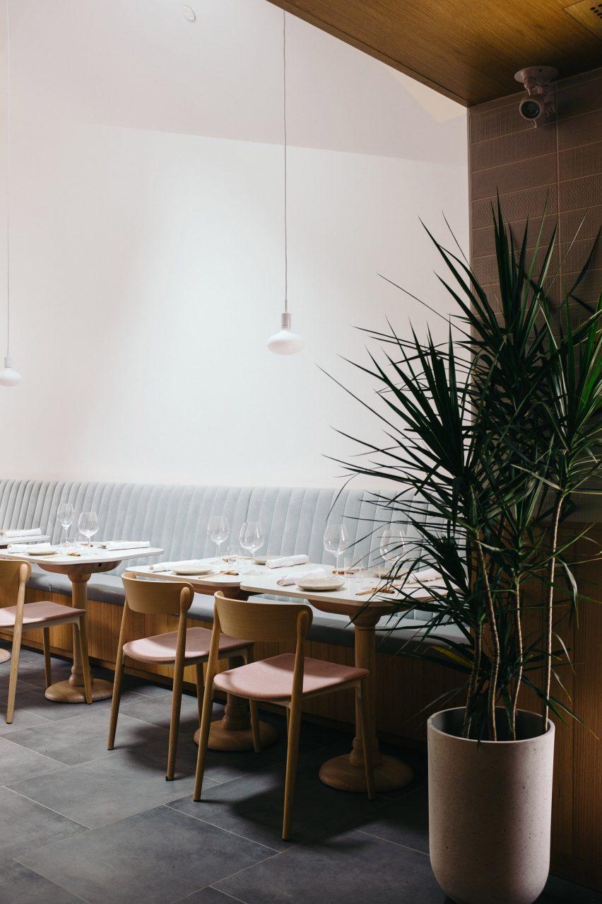 Sara restaurant in Toronto, Canada by Odami Studio
