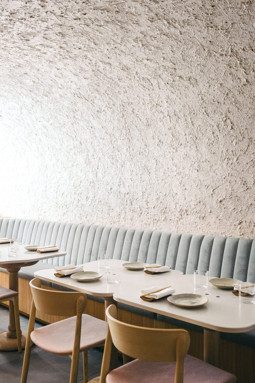 Sara restaurant in Toronto, Canada by Odami Studio