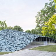 Junya Ishigami unveils rocky Serpentine Pavilion made out of slate