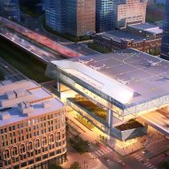 SHoP and Gensler reveal designs for Uber Air Skyports