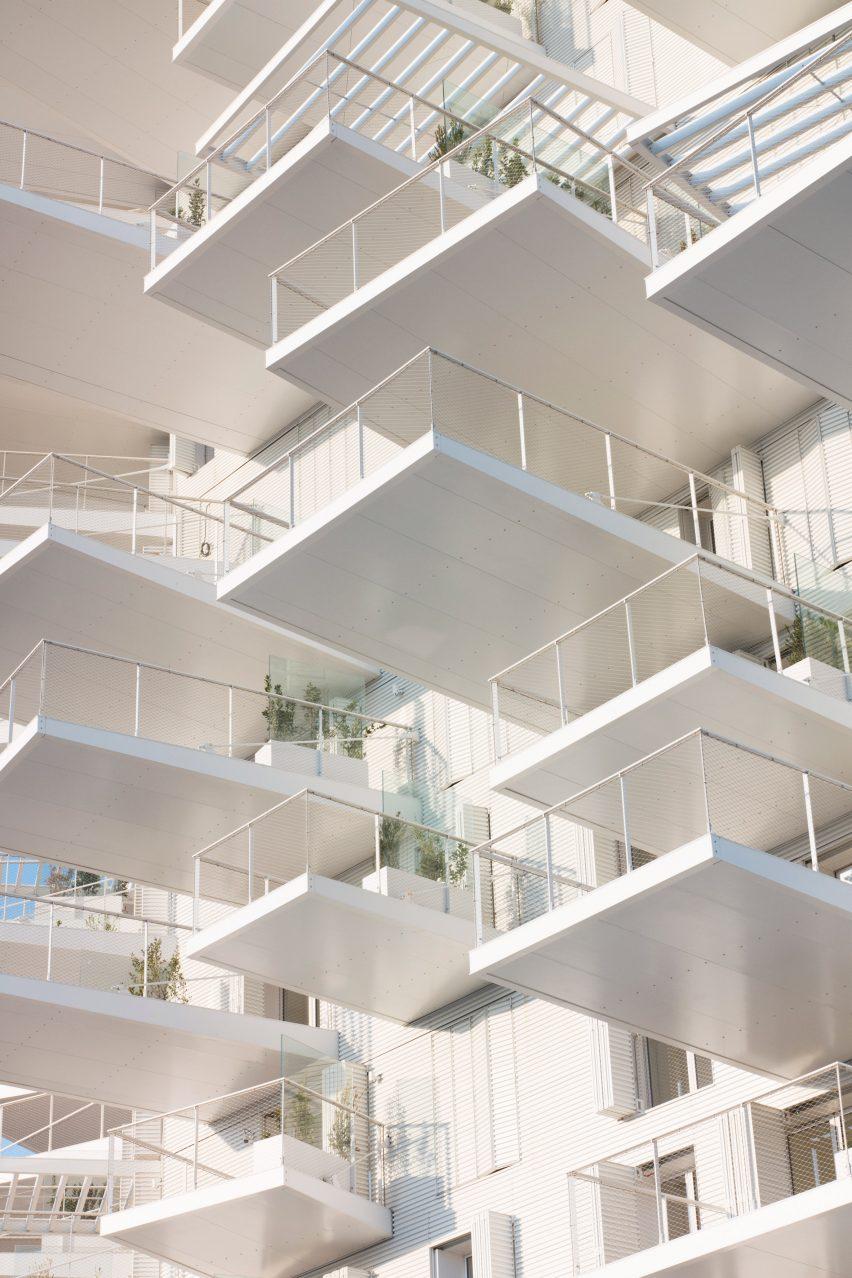 L'Arbre Blanc by Sou Fujimoto, Nicolas Laisné, Dimitri Roussel and OXO Architectes.