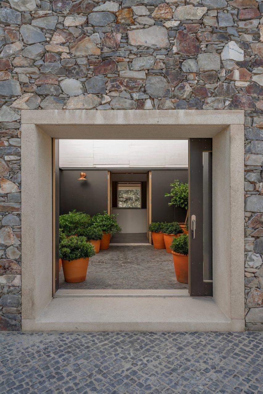 Casa de Piedra by Tuñón Arquitectos in Cáceres, Spain