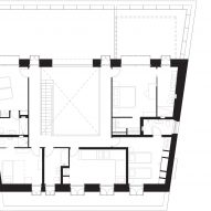 First floor plan of Stone House by Nomo Studio