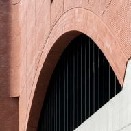 Soaring brick archways define Sydney's Rail Operations Centre