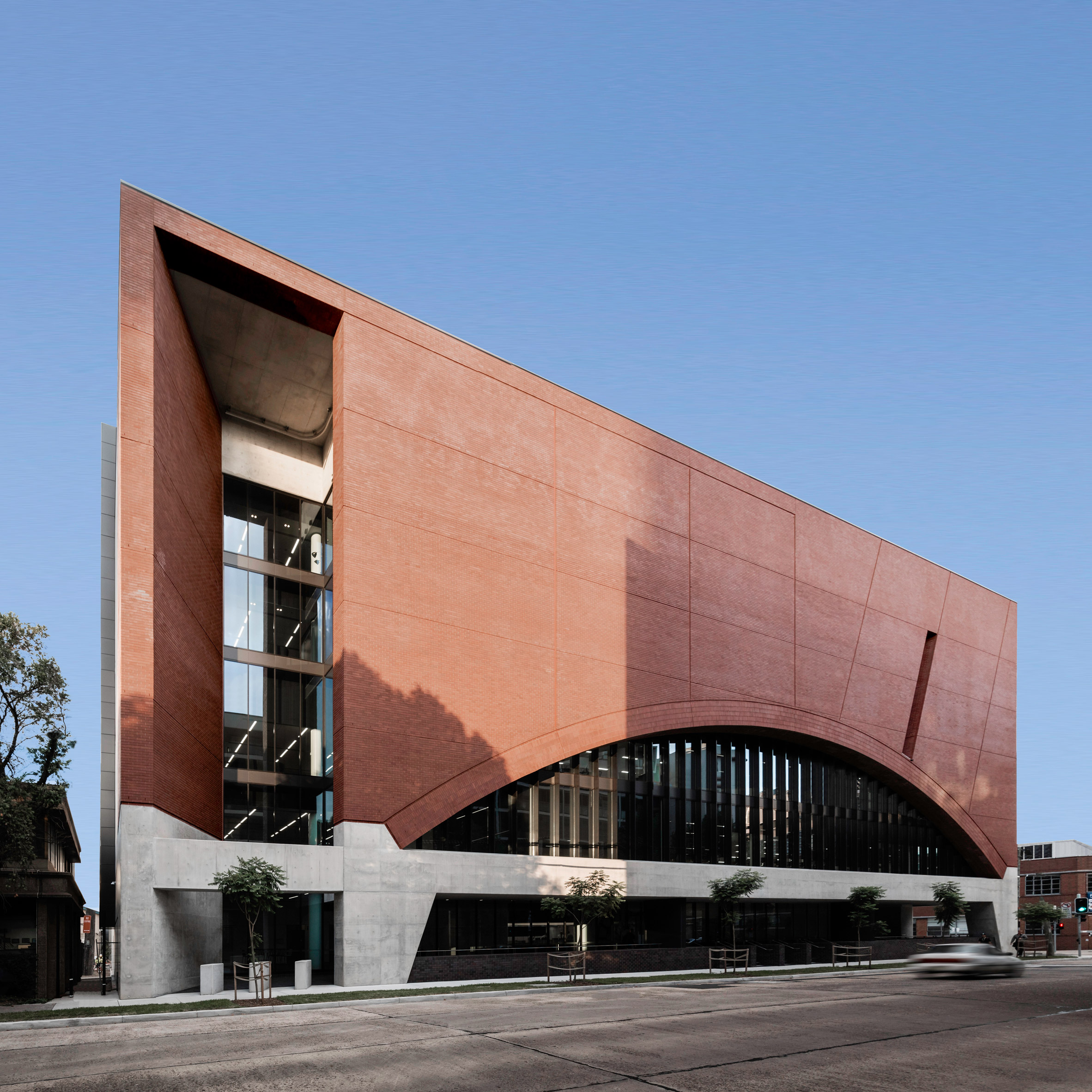 Soaring Brick Archways Define Sydney S New Rail Operations Centre