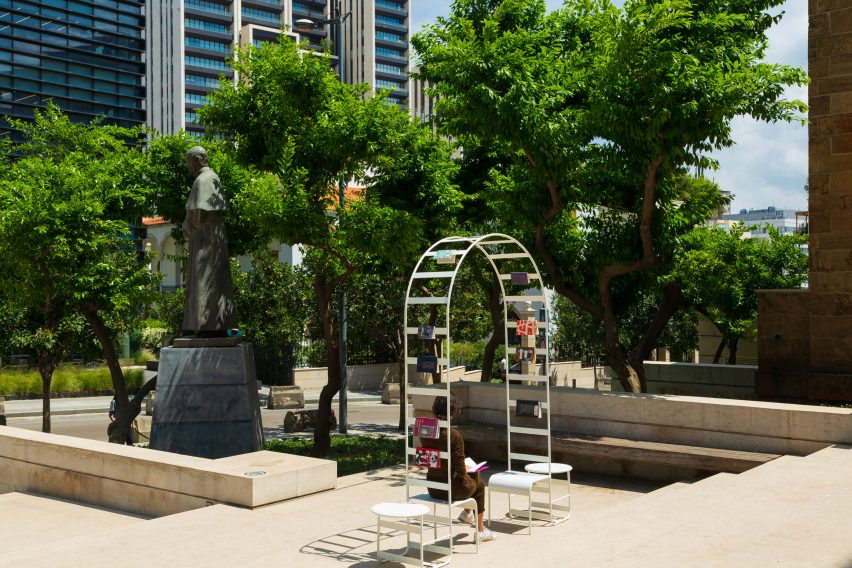 T SAKHI creates public spaces using Beirut's security infrastructure