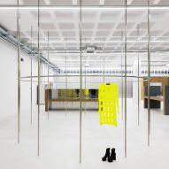 Gonzalez Haase AAS creates pared-back interiors for Lisbon concept store Tem-plate