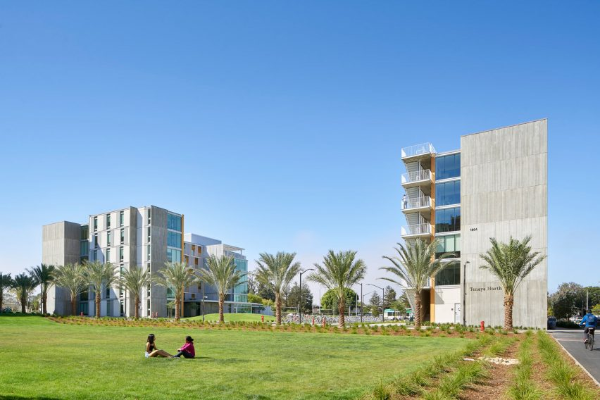 Tenaya Towers at UCSB San-Joaquin Villages in California by SOM