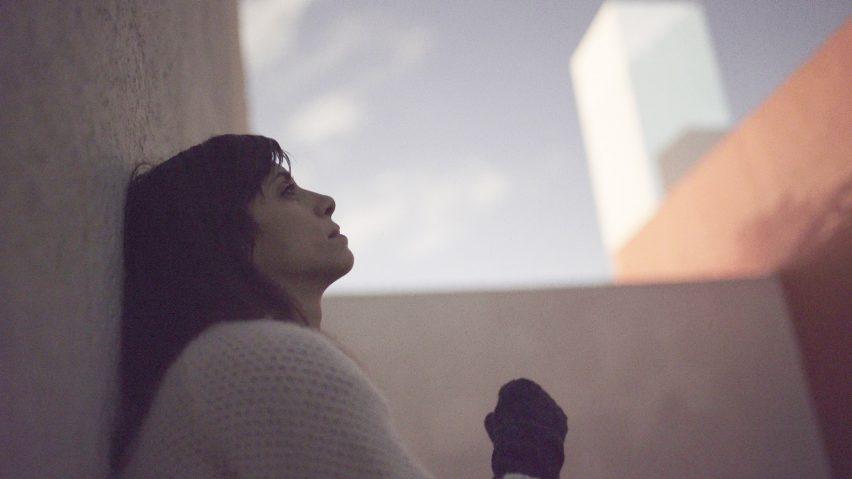 A still of Jill Magid from The Proposal film