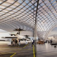 Foster + Partners unveils Uber Air Skyport for Santa Clara
