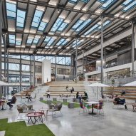 "Perkins+Will creates ""Instagram-ready"" spaces in Unilever's New Jersey campus"