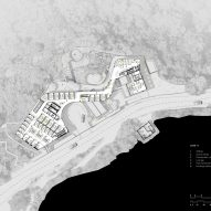First floor plan of University of Chicago campus by Revery Architecture