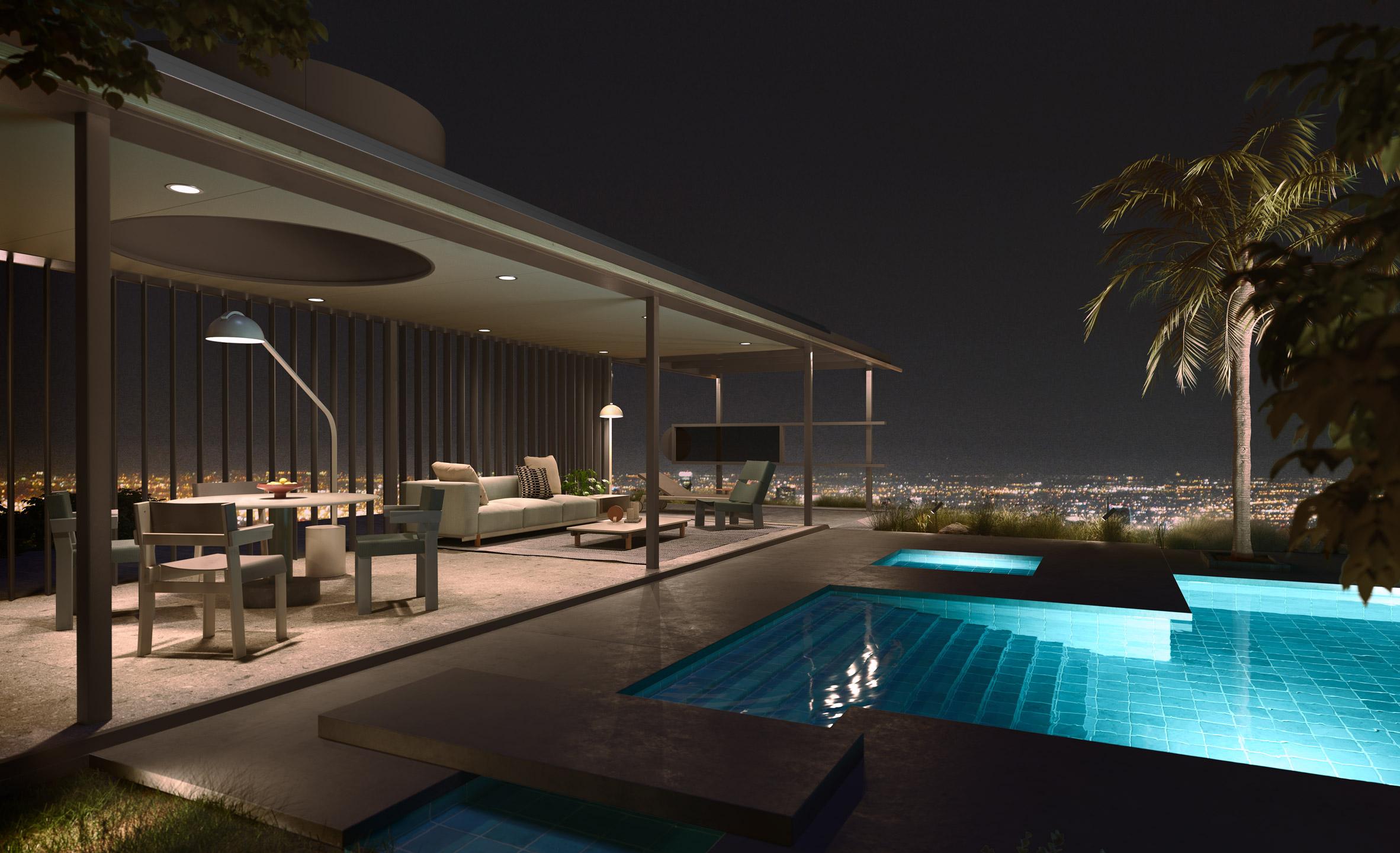 VDL Penthouse by Dion & Richard Neutra