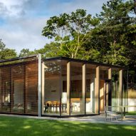 Jerome Engelking designs Wuehrer House for forest clearing in the Hamptons