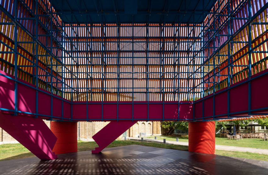 Dulwich Pavilion: The Colour Palace by Yinka Ilori and Pricegore