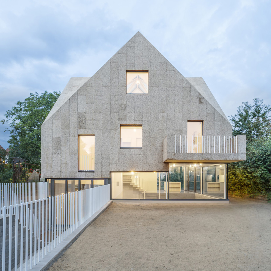 Dezeen Awards 2019 longlist - Corkscrew House, Berlin, Germany, by Rundzwei Architekten is longlisted for urban house