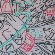 """Carlo Ratti uses drones to create """"world's first crowdsourced graffiti"""""""