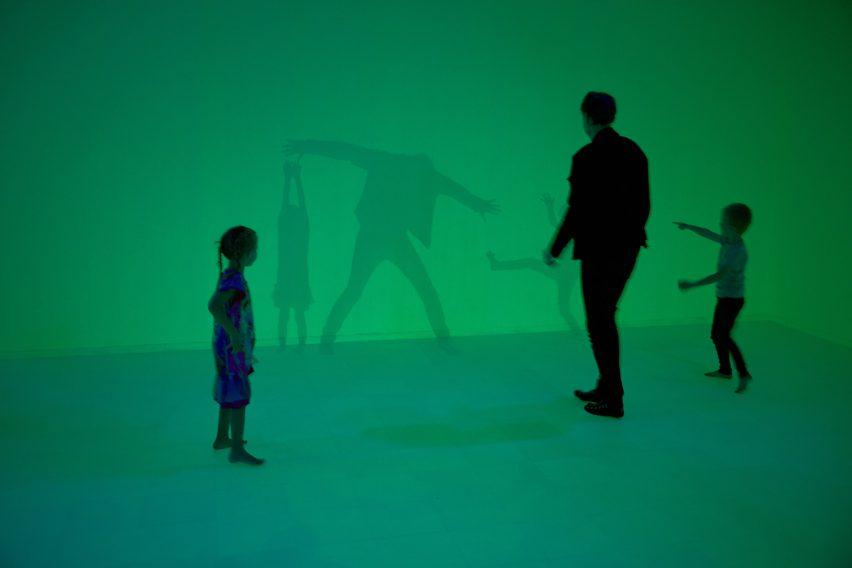 Daan Roosegaarde Presence exhibition