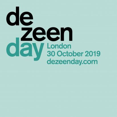 Tickets for Dezeen Day design conference